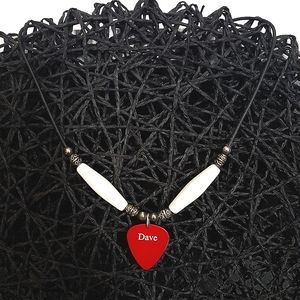 Dave Navarro's guitar pick, turned into a necklace
